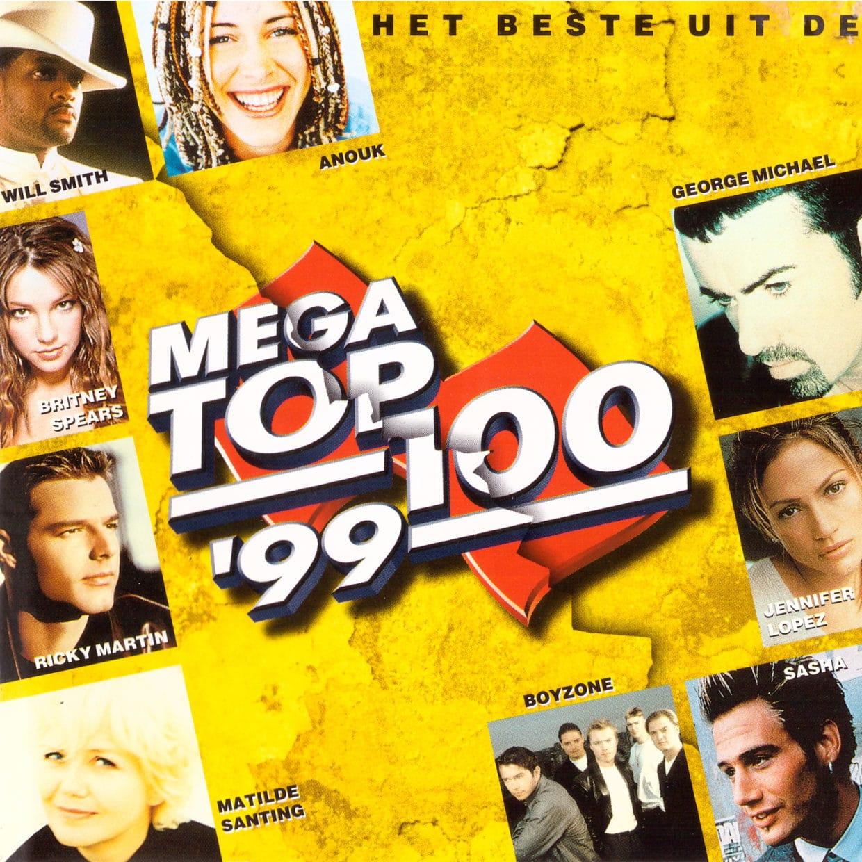 Albumhoes van het Beste uit de Mega Top 100 van 1999