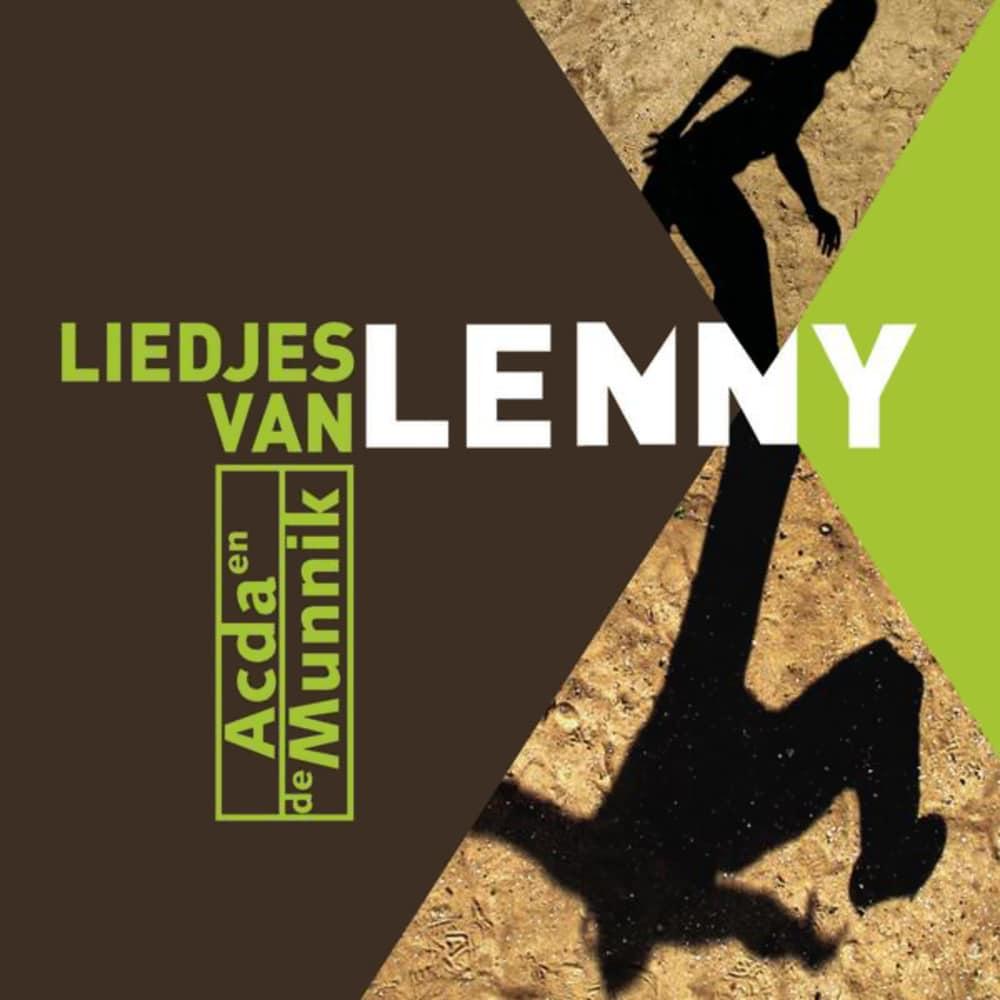 Albumhoes Acda en de Munnik - Liedjes van Lenny