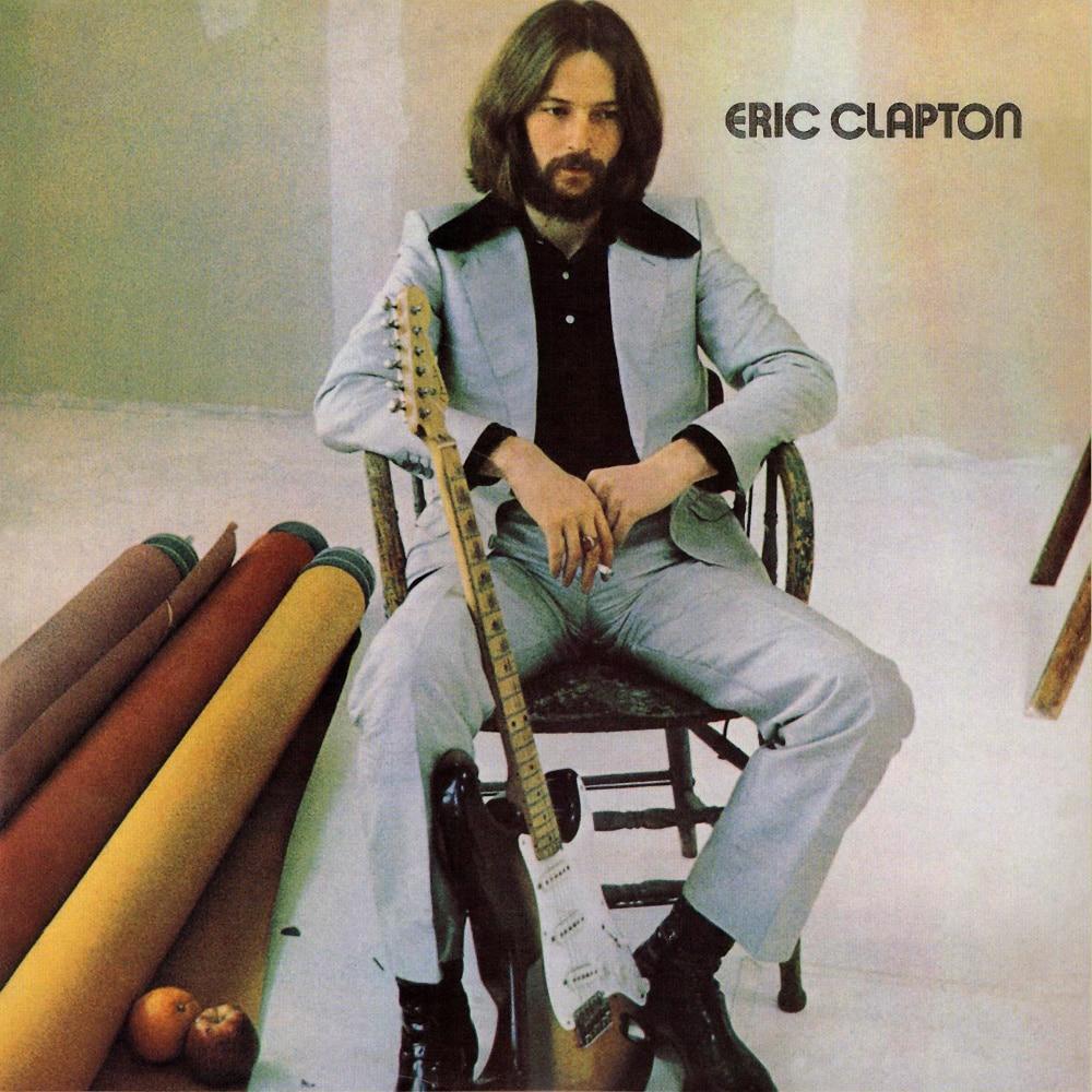 Album cover van Eric Clapton's albums genaamd Eric Clapton.
