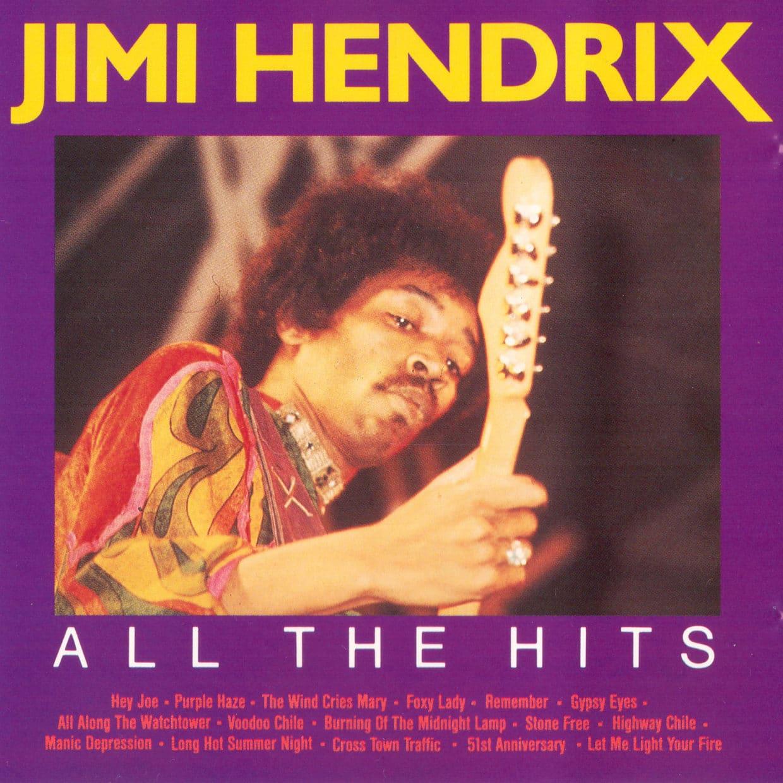 Album cover van Jimi Hendix - All the hits