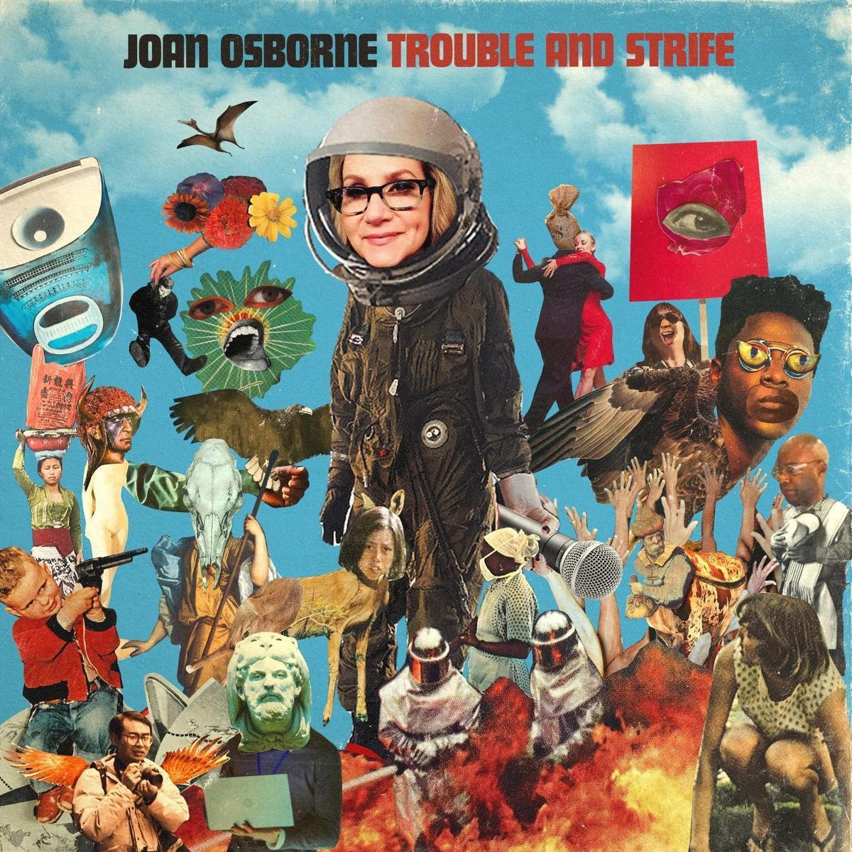 Cover van Joan Osborne's Trouble and strive album