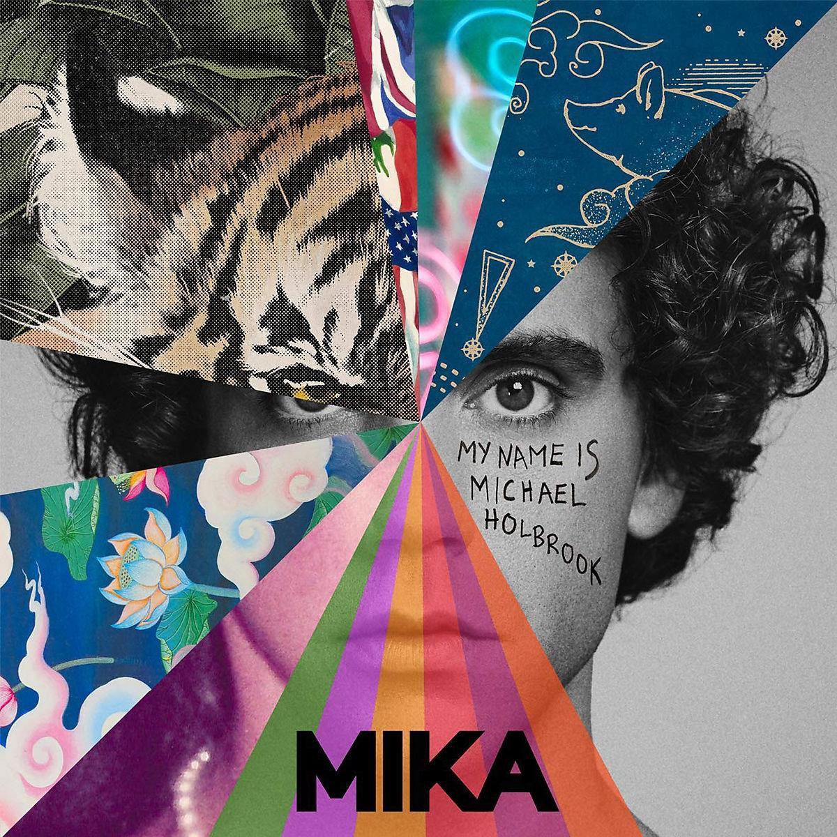 Album cover Mika - My name is Michael Holbrook