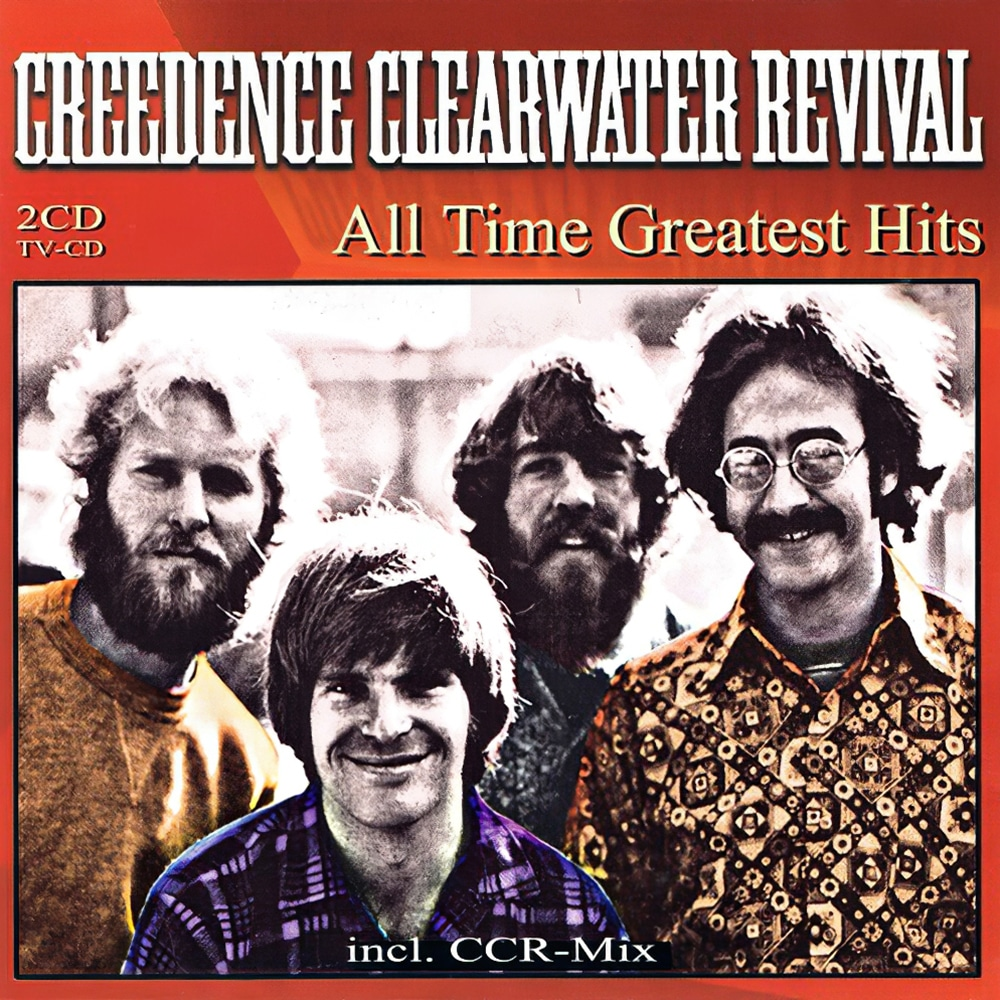 Album cover Creedence Clearwater Revival - All time greatest hits