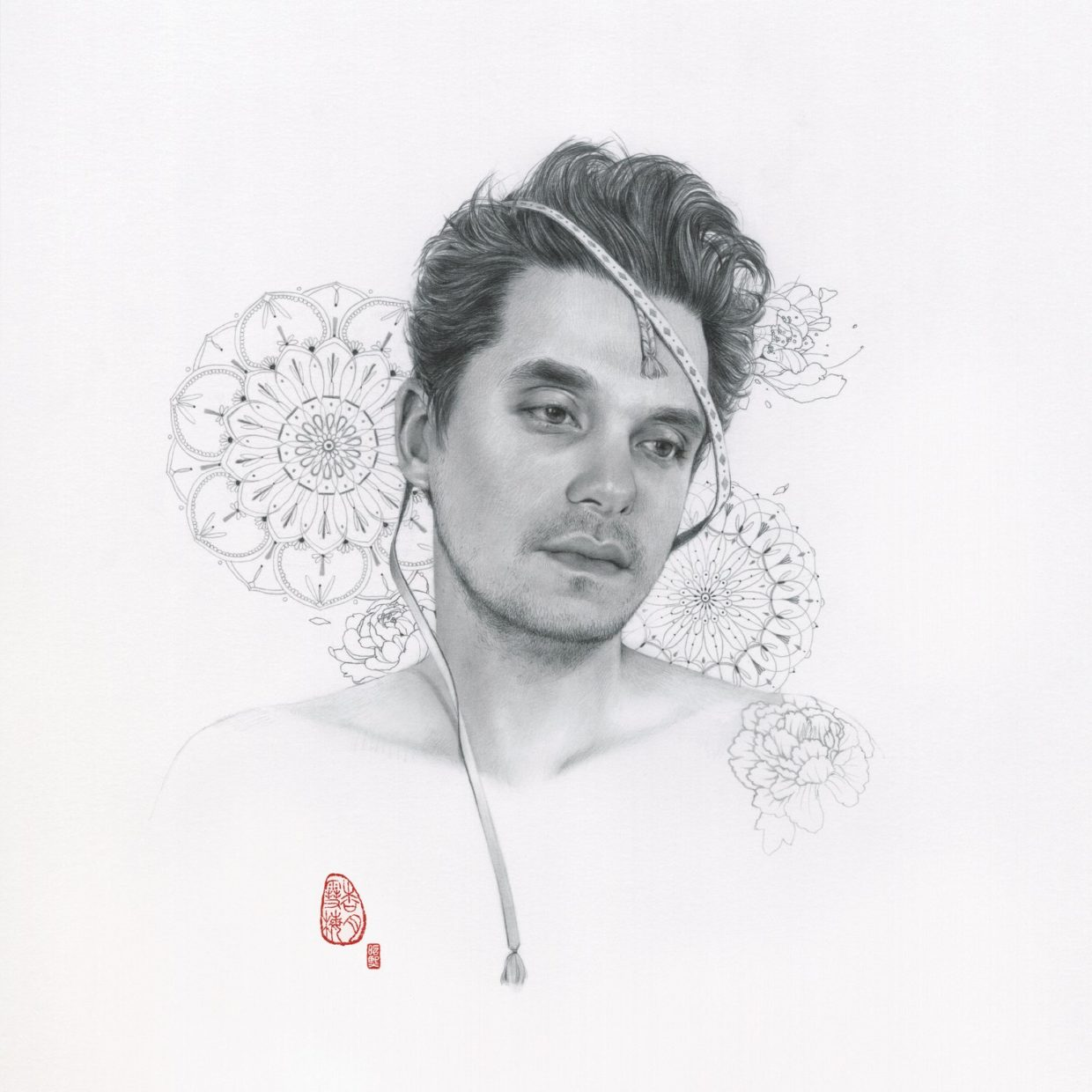 Album cover van John Mayer - The search for everything
